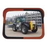 Safety mirror for industrial & warehouses 800xH600 Ø76mm
