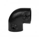 Type 6 Black, Two Way Elbow