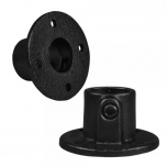 Type 10T Black, Round base plate open