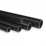 Round steel tube black D=42.4mm