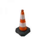 Foot cone 50 cm rubber base