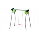 Jungle Single Swing Set with Flat Seat