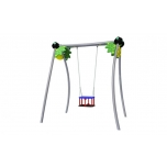 Jungle Single Swing Set with Baby Seat