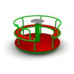 Platform Merry Go Round with Seats