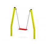 BiBo Single Swing Set with Flat Seat