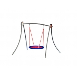 Futura Single Swing Set with Bird Nest Seat
