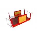 Open Air Play Train Car Playground