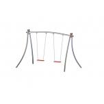 Futura Double Swing Set with Flat Seat