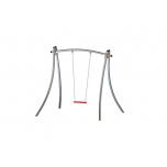 Futura Single Swing Set with Flat Seat