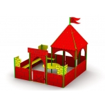 Castle Play Set with Sandbox