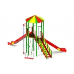 Standard Playground set with two slides