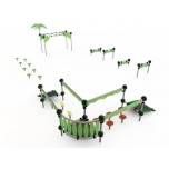 SkySet Jungle Playground Obstacle Course no. 2