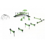 SkySet Jungle Playground Obstacle Course no. 3