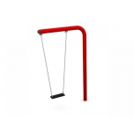 One-Armed Single Swing Set with Flat Seat