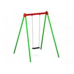 Standard Single Swing Set with Flat Seat