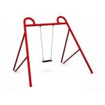 Single Swing Set with Flat Seat