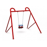 Single Swing Set with Baby Seat