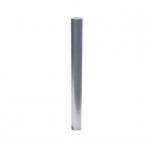 Stainless steel bollard casting in concrete Ø154mm
