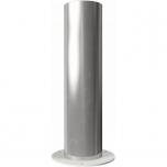 Stainless steel bollard wiht base plate Ø154mm