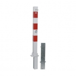 Barrier post foldable/removable 70x70mm H900mm