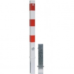 Barrier post, removable, with tringular locking mechanism 70x70mm H900mm