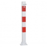 Barrier post 70x70 H900mm, foldable, with triangular lock