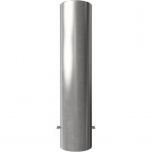 Stainless steel post for casting in concrete Ø204mm