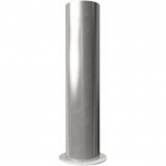 Stainless steel bollard with base plate Ø204mm