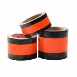 Temporarily Neutralizing Traffic Sign Tape, 100 mm x 33 m, Orange-Black