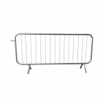Crowd Control Barrier -Basic- 2.5m with fixed leg