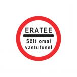 LM 311d - Erateel sõidu keeld