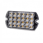 24xLED Surface Mount Light Head, 12-24V, yellow