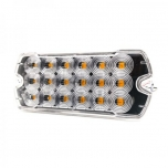 18xLED Surface Mount Light Head, 12-24V, yellow
