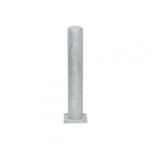Metallist turvapost tallaga Ø159 mm H1000 mm, tsingitud