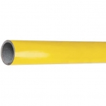 Round steel tube yellow D=42.4mm