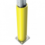 PVC riiulikaitse L, Ø100-120 H600mm