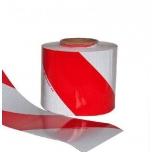 Valgustpeegeldav märgistusteip punane valge 141 mm